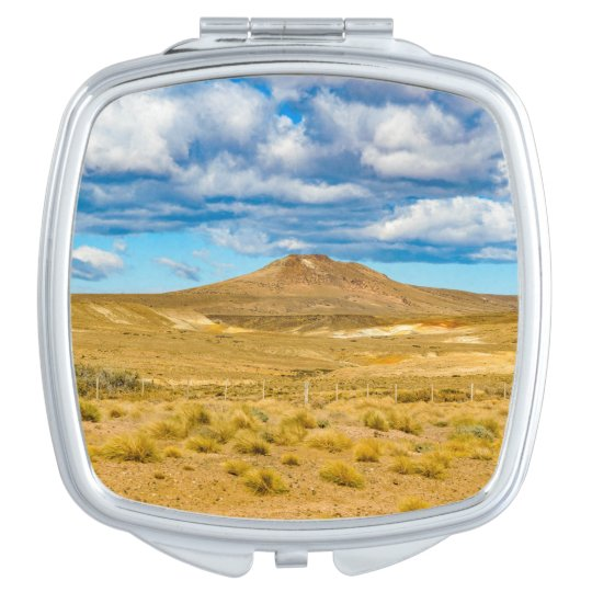 Patagonian Landscape Scene, Argentina Compact Mirrors