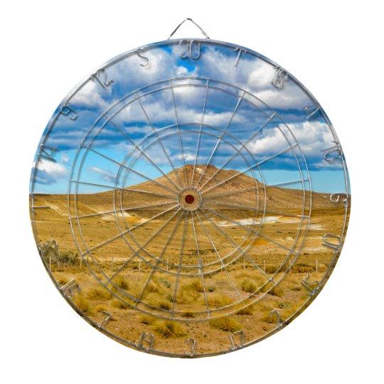 Patagonian Landscape Scene, Argentina Dartboard