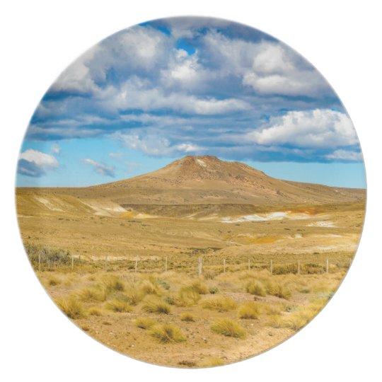 Patagonian Landscape Scene, Argentina Dinner Plates