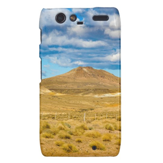 Patagonian Landscape Scene, Argentina Droid RAZR Covers