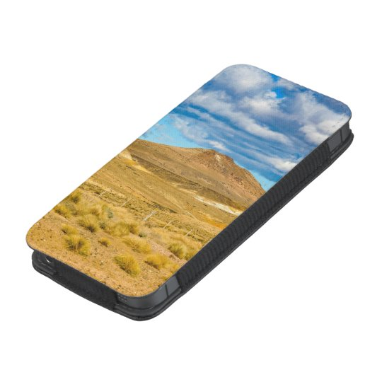 Patagonian Landscape Scene, Argentina iPhone Pouch