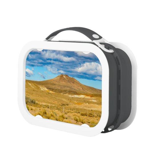 Patagonian Landscape Scene, Argentina Lunch Box
