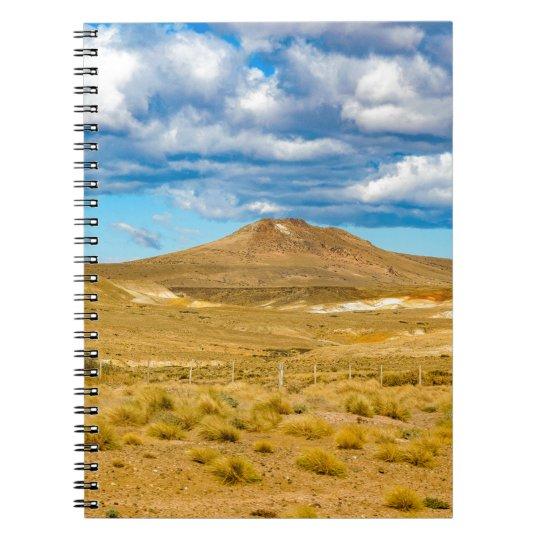 Patagonian Landscape Scene, Argentina Note Books