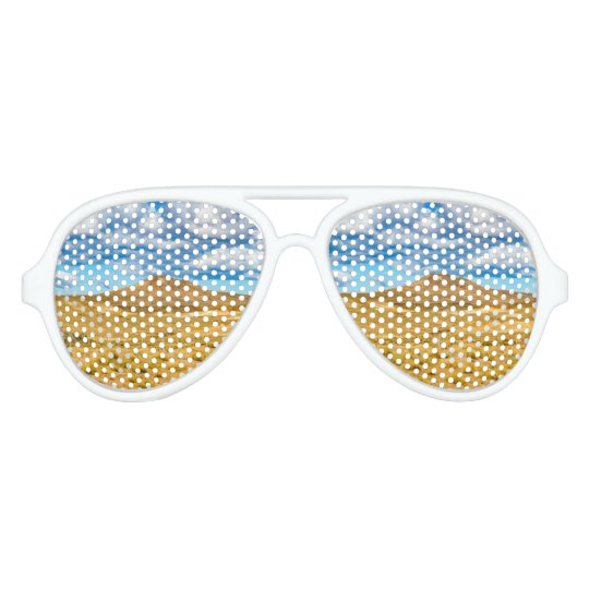 Patagonian Landscape Scene, Argentina Party Shades