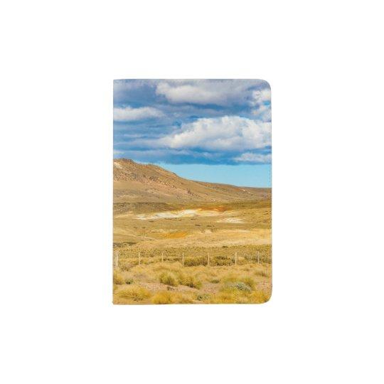 Patagonian Landscape Scene, Argentina Passport Holder