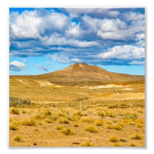 Patagonian Landscape Scene, Argentina Photograph