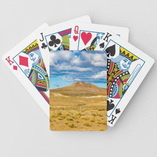 Patagonian Landscape Scene, Argentina Poker Deck