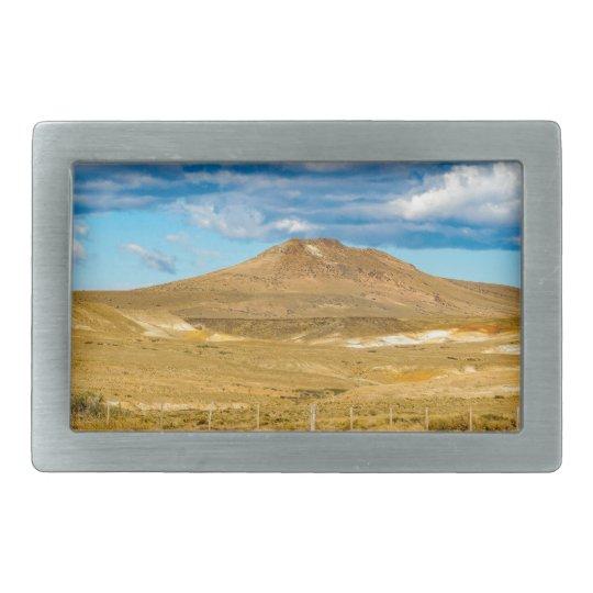 Patagonian Landscape Scene, Argentina Rectangular Belt Buckles