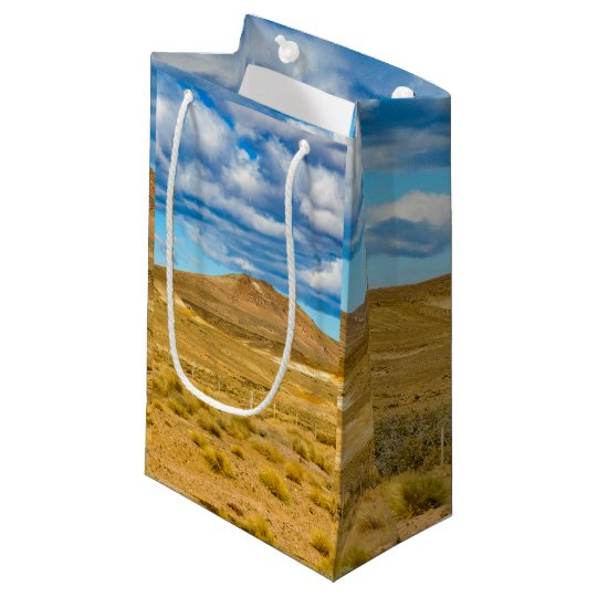 Patagonian Landscape Scene, Argentina Small Gift Bag