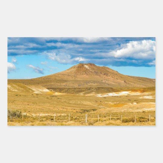 Patagonian Landscape Scene, Argentina Sticker