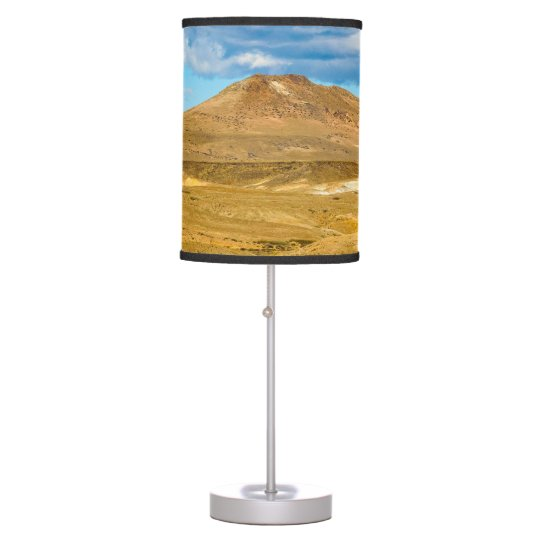 Patagonian Landscape Scene, Argentina Table Lamp