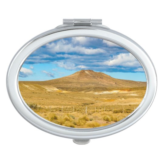 Patagonian Landscape Scene, Argentina Travel Mirror