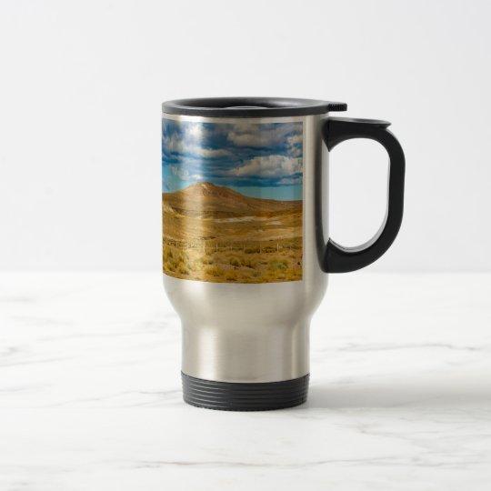 Patagonian Landscape Scene, Argentina Travel Mug