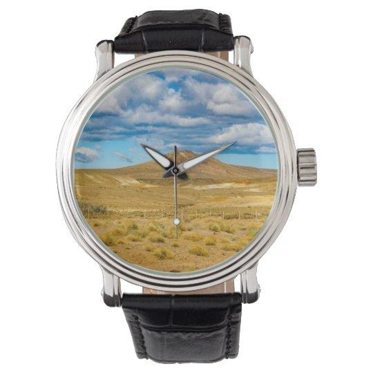 Patagonian Landscape Scene, Argentina Wristwatches
