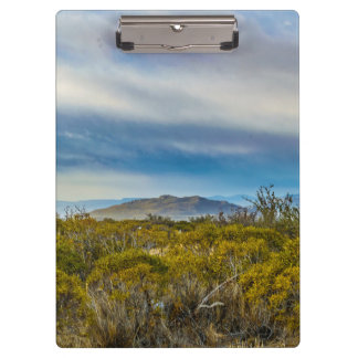 Patagonian Landscape Scene, Santa Cruz, Argentina Clipboard