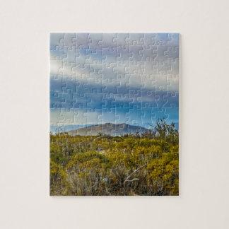 Patagonian Landscape Scene, Santa Cruz, Argentina Jigsaw Puzzle