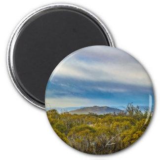 Patagonian Landscape Scene, Santa Cruz, Argentina Magnet