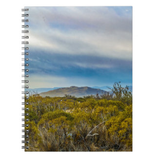 Patagonian Landscape Scene, Santa Cruz, Argentina Note Book