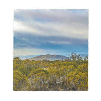 Patagonian Landscape Scene, Santa Cruz, Argentina Notepad