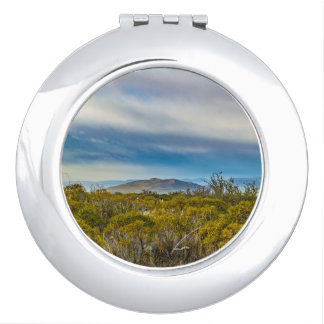 Patagonian Landscape Scene, Santa Cruz, Argentina Travel Mirror
