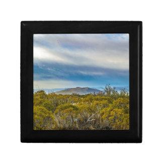 Patagonian Landscape Scene, Santa Cruz, Argentina Trinket Boxes