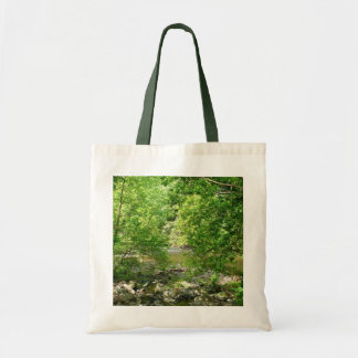 Patapsco River View Maryland Nature Photography Tote Bag