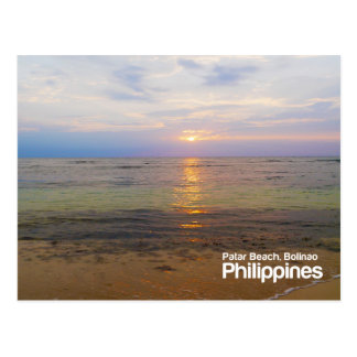 Patar Beach Pangasinan Philippines Postcard