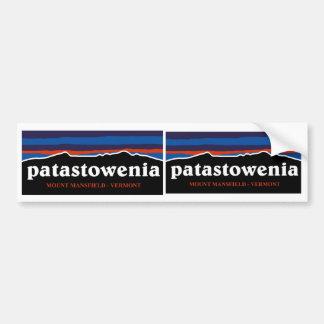 Patastowenia Sticker Bumper Sticker