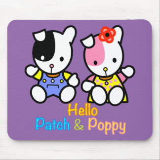 Patch and Poppy Mousepad