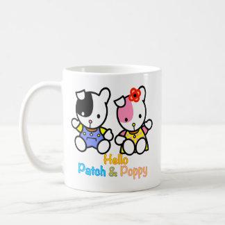 Patch and Poppy mug