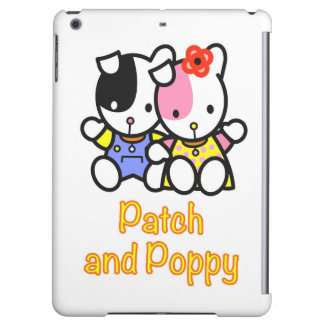 Patch and Poppy the Puppies iPad Air Cases