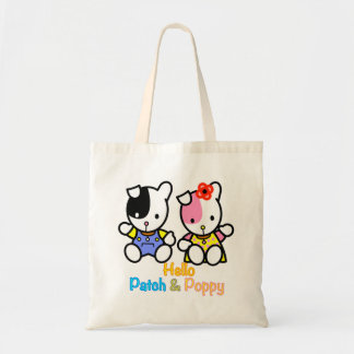 'PATCH and POPPY'  tote bag.