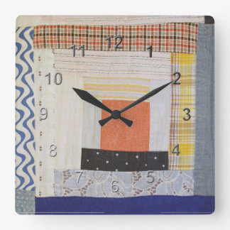 Patch Craft Square Wall Clock