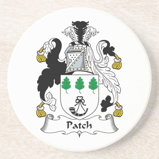 Patch Family Crest Coaster