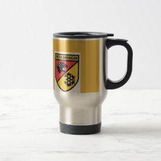 patch high school JROTC travel mug