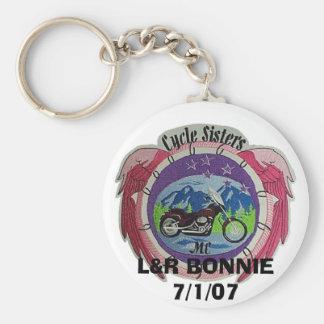 patch, L&R BONNIE7/1/07 Keychain