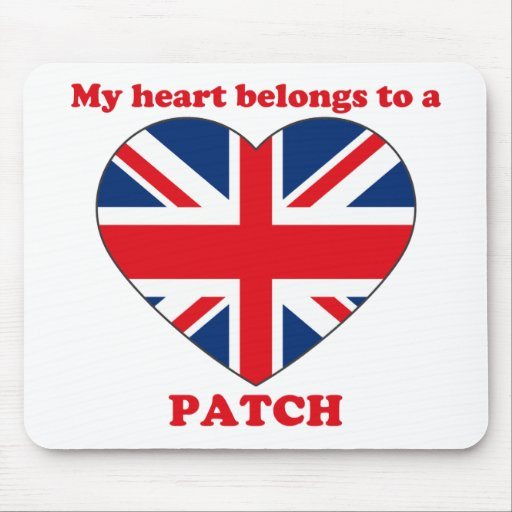 Patch Mouse Pad