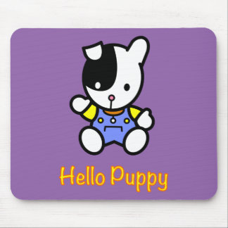 Patch the Puppy Mouse Pad