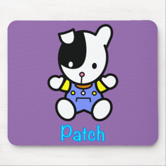 'PATCH' the puppy mousepad. Mouse Pad
