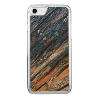 Patched boards carved iPhone 7 case