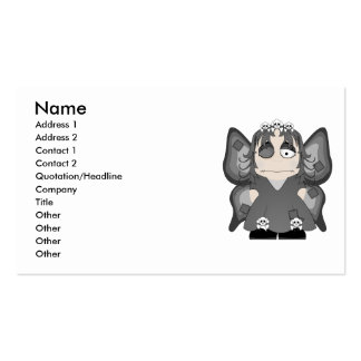 Patched Gothic Princess Fairy Business Card