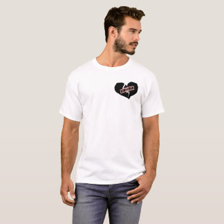 Patched Heart T-Shirt
