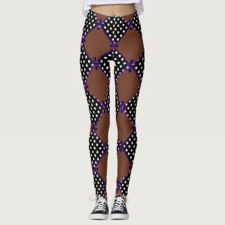 Patches & Bow's_STREET-WEAR_Cocoa_LEGGING'S_XS-XL Leggings