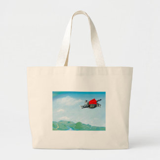 Patches Large Tote Bag