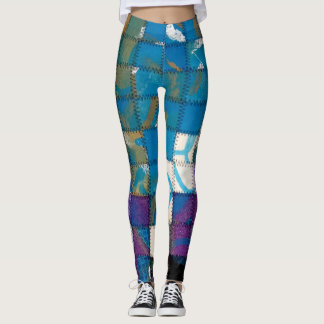 Patches Leggings