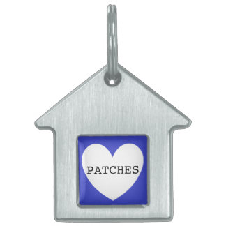 ❤️   PATCHES pet tag by DAL