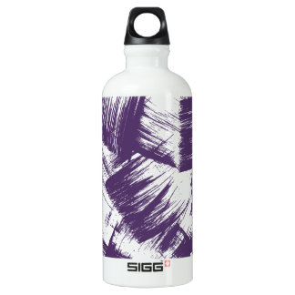 Patches Purple Strokes Water Bottle