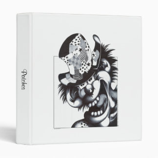 Patches the Clown Vinyl Binders