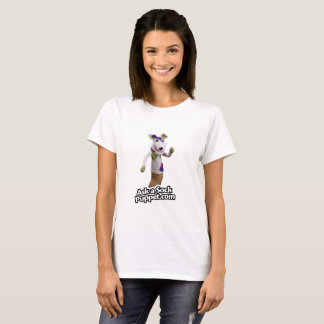 Patches the Sock Puppet Waving Hi T-Shirt