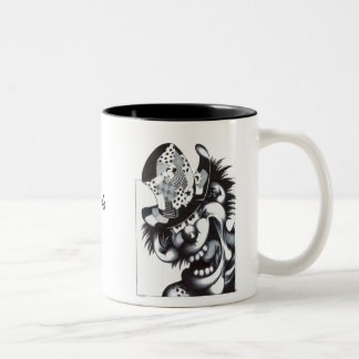 Patches Two-Tone Coffee Mug